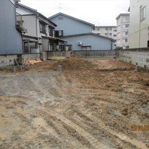 新築基礎配管工事