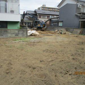 住宅建替え 解体